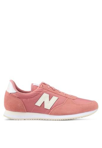 New Balance orange 220 70s Running Lifestyle Sneakers NE323SH0SVDFMY_1