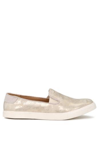 London Rag beige Beige Slip-On Sneakers B6D7FSH48F4BCCGS_1
