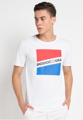 Slant Ss Id Shirts - Snow White - DC 72d8e752ff