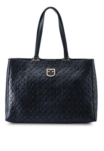 Furla black Belvedere Tote Bag F2611AC6D96AC1GS_1