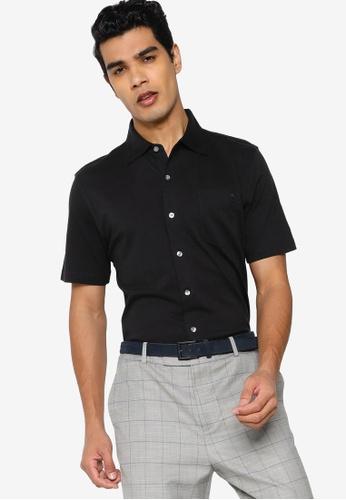 Brooks Brothers black Red Fleece Knit Shirt 01BBDAA32EF5C2GS_1