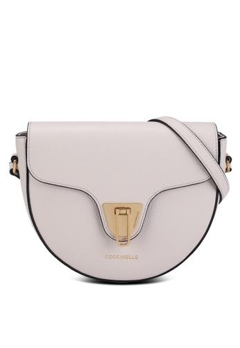 Coccinelle white Beat Soft Saddle Bag D9C11AC2BB8E88GS_1
