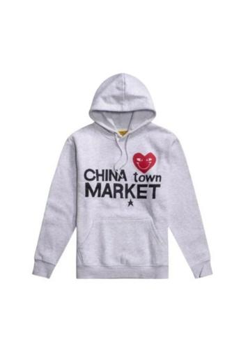 CHINA TOWN MARKET grey MARKET HOODIE CDFBDAA23ACA76GS_1