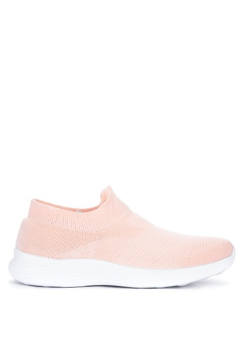 Appetite Shoes pink Slip On Sneakers 8F864SHF77572BGS_1