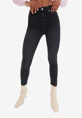Trendyol black Black Skinny Jeans 22911AA048416BGS_1