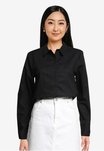 JACQUELINE DE YONG black Ulrikka Long Sleeves Shirt 86C80AA0B76763GS_1