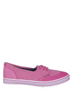 Hush Puppies Sepatu Wanita Cannes Lace Up - Pink