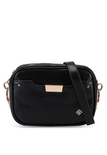Call It Spring black Sightede Crossbody Bag 28DE3AC8B7F02AGS_1