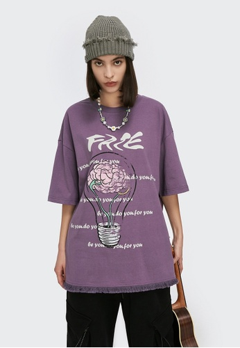Twenty Eight Shoes Trend Printed Short T-shirt 5162S21 211E2AA44C027DGS_1