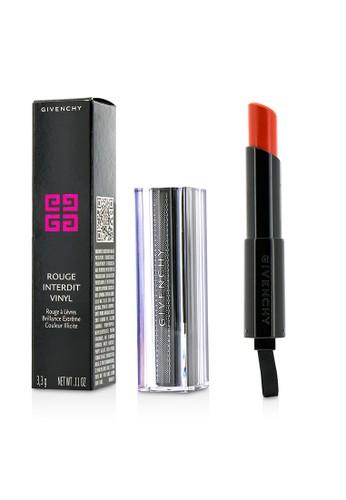 Givenchy GIVENCHY - Rouge Interdit Vinyl Extreme Shine Lipstick - # 08 Orange Magnetique 3.3g/0.11oz E1461BE13BA236GS_1