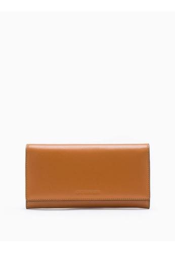 Calvin Klein brown Long Flap Wallet 760BFAC26008DDGS_1