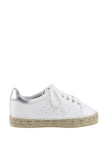 London Rag white White Lace-up Espadrille Sneakers CAE80SH4441E93GS_1