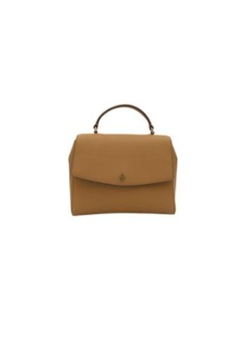 TORY BURCH 褐色 Tory Burch Emerson 63981 Structered Satchel Bag In Cardamom B5581AC0F73FBDGS_1