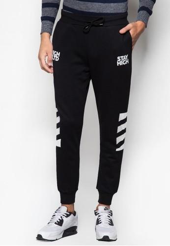 品牌色塊束腳運動長褲, 服esprit 高雄飾, 長褲