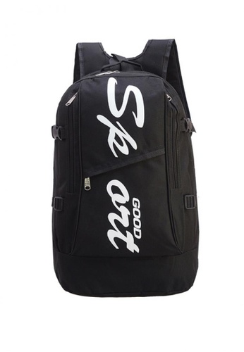 Lucky JX black Fred Good Sporty Nylon Travel Backpack E074EACBAD3DC2GS_1