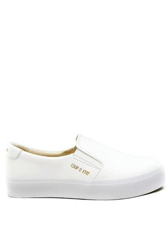 CDE white CDE Noctis Men Slip-on White 6554ESH677882EGS_1