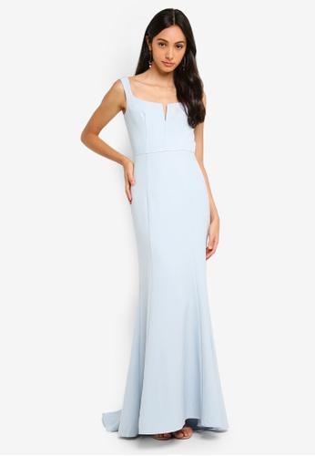 JARLO LONDON blue Skylar Evening Dress 1ED60AA141EA2EGS_1