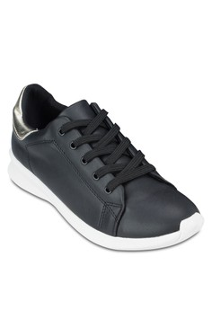 Duo Tone Lace Up Sneaker