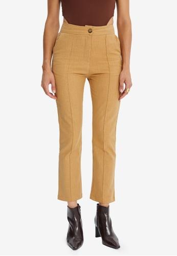 Trendyol brown Camel Pants DD00AAAA4091ECGS_1