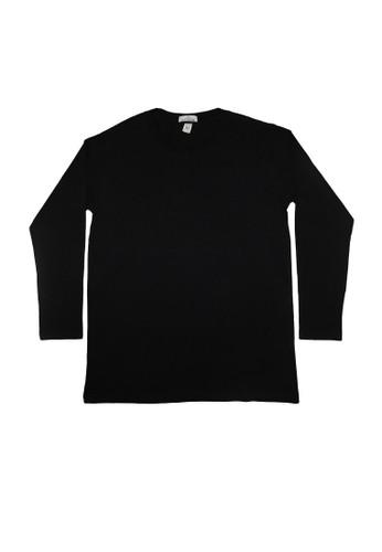Hangdeb black T-SHIRT POLOS D3F33AA73224CBGS_1