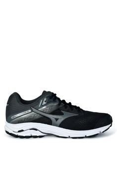 2781a9430d843 Mizuno black Wave Inspire 15 2E Wide Running Shoes 0C123SHA6EC9A8GS_1