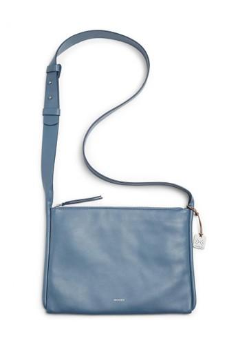 SKAGEN blue Skagen Anesa - Leather - Crossbody - Smokey Blue - Tas Wanita - SWH0180180 409DCACFCAA9B1GS_1