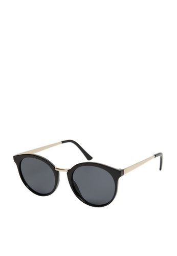 Mango black Metal Bridge Sunglasses D6848GL3DE684DGS_1