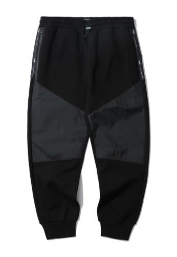Fivecm black Panelled pants D758BAAF031AE5GS_1