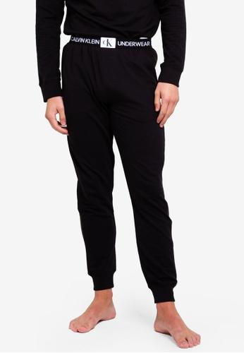 Calvin Klein 黑色 休閒慢跑褲 3DF8EAA88160FAGS_1