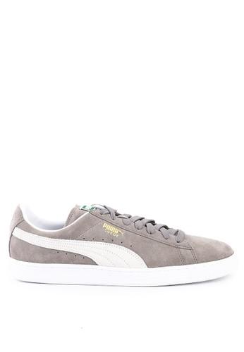 PUMA grey Suede Classic Shoes DD6D7SH4D4CDBFGS_1
