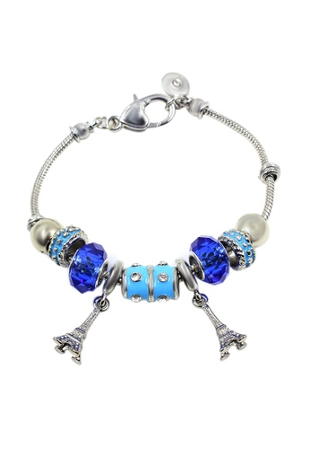 Venice Jewelry blue and silver Venice CB-0002 VE564AC90BDHPH_1
