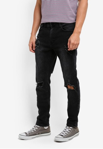 Cotton On black Slim Fit Jeans 0B0BFAA29B117AGS_1