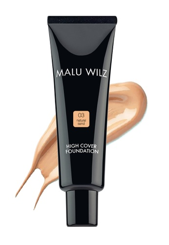 Malu Wilz beige High Cover Foundation 3 MA792BE65TWKMY_1
