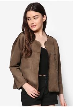 Minimalist Suede Jacket