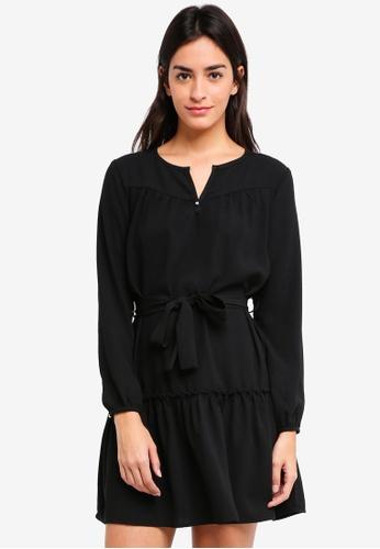 ZALORA black Relaxed Boho Dress 4F025AA54ED12BGS_1