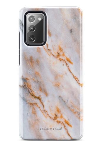 Polar Polar brown Coffee Cream Dual-Layer Tough Case Glossy For Samsung Galaxy Note20 5G 04ED3AC6B45D75GS_1