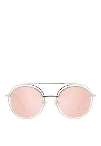 Carin pink and multi and silver Sedgwick C2 Sunglasses DC42CGLDA34E5CGS_1