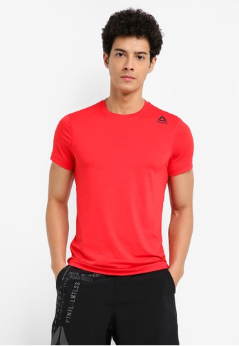 Reebok red Workout Ready Activchill Tech Top RE691AA0SW14MY_1