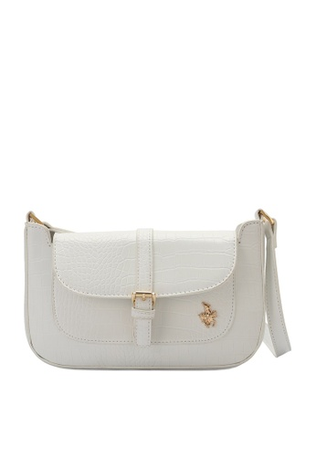 Swiss Polo white Croc Shoulder Bag 00894ACC035BA2GS_1