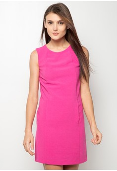 Ladies' Crepe Pocket Sleeveless Tunic