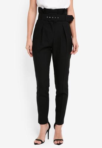 Lipsy black Tweed Trousers 33C2BAA01DA591GS_1