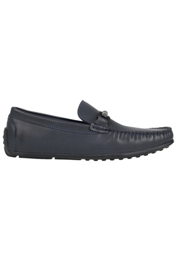 Tomaz blue Tomaz C142 Buckled Loafers (Navy) D927ASH5BB3FAEGS_1
