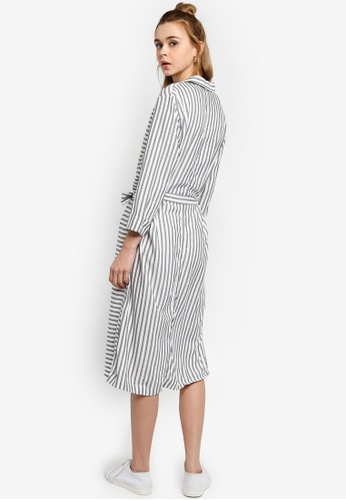 9336087ac37d Shop JACQUELINE DE YONG Karla 3/4 Midi Shirt Dress Online on ZALORA  Philippines
