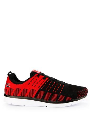 CARVIL black and multi Carvil Sepatu Sport Men Rectoverso Black/Red 65DAASH8C9C3B9GS_1