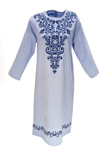 Versail blue Versail Teen Tunic Bordir Bunga BC8B2KA57678D5GS_1