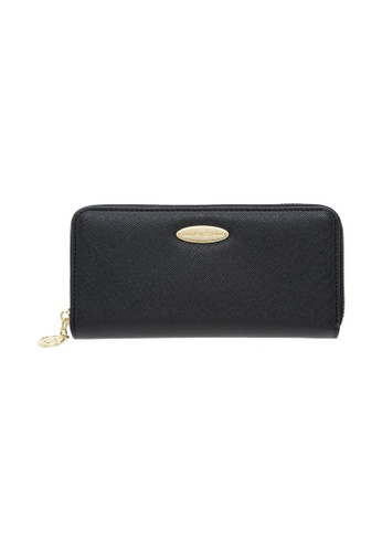 British Polo black British Polo Downward Zipped Wallet 5E615AC22F8879GS_1
