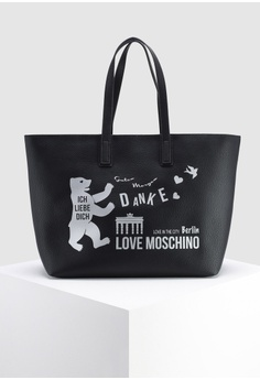 Shop Love Moschino Tote Bags for Women Online on ZALORA ... 8d9193e399
