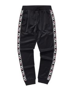 13e325d142e2 Fila black FILA X STAPLE Side Taped Pants 2AC72AA7CCBD60GS_1