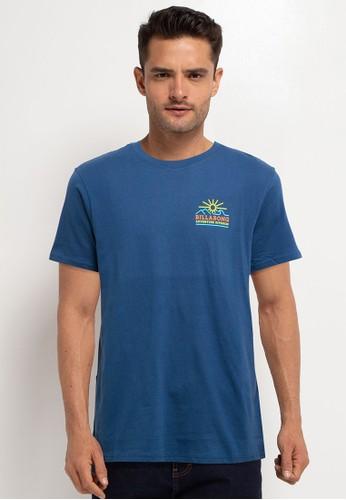 Billabong blue Hills Short Sleeve Tee E7EEFAADA5E54CGS_1