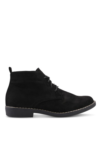 Noveni 黑色 Lace Up Boots BBBCASH2B8F10CGS_1